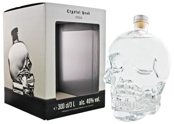 Crystal Head Vodka, 3,0L 40%