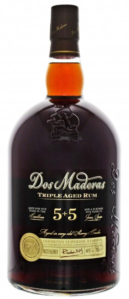 Dos Maderas Rum PX 5 + 5 Triple aged, 3,0L 40%