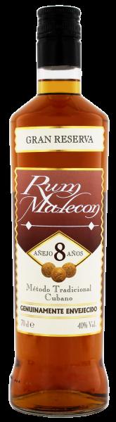 Malecon Rum Gran Reserva 8 Years Old, 0,7 L, 40%