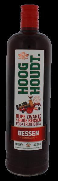 Hooghoudt Bessen Genever, 1 L, 20%