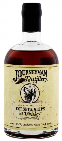 Journeyman Corsets, Whips & Whiskey 0,5L 59,15%