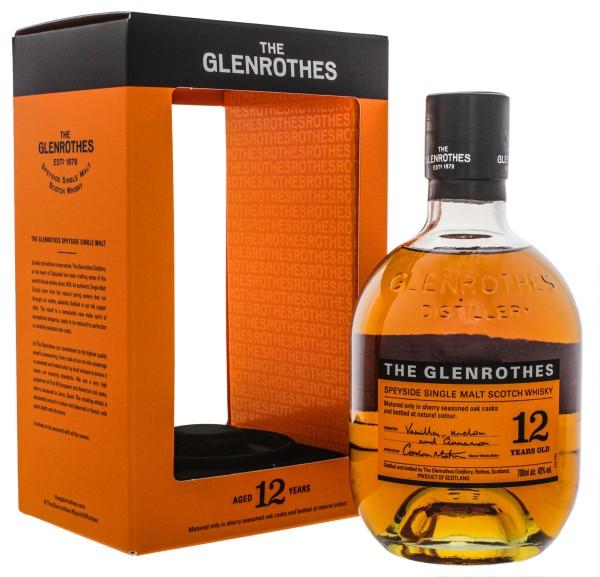 The Glenrothes 12 Yo Speyside Single Malt Whisky 0,7L 40%