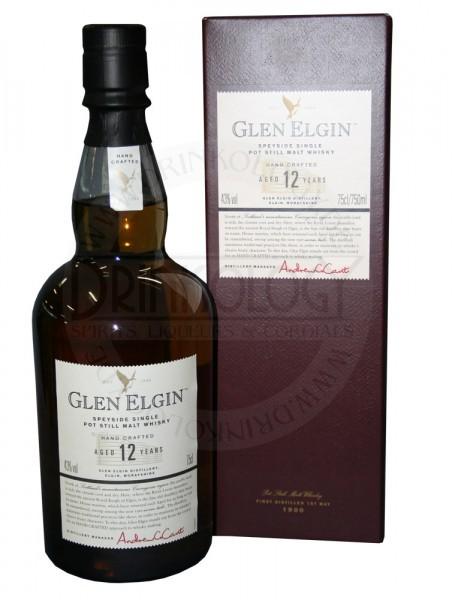 Glen Elgin Single Malt Whisky 12 Years Old 0,7L 43%