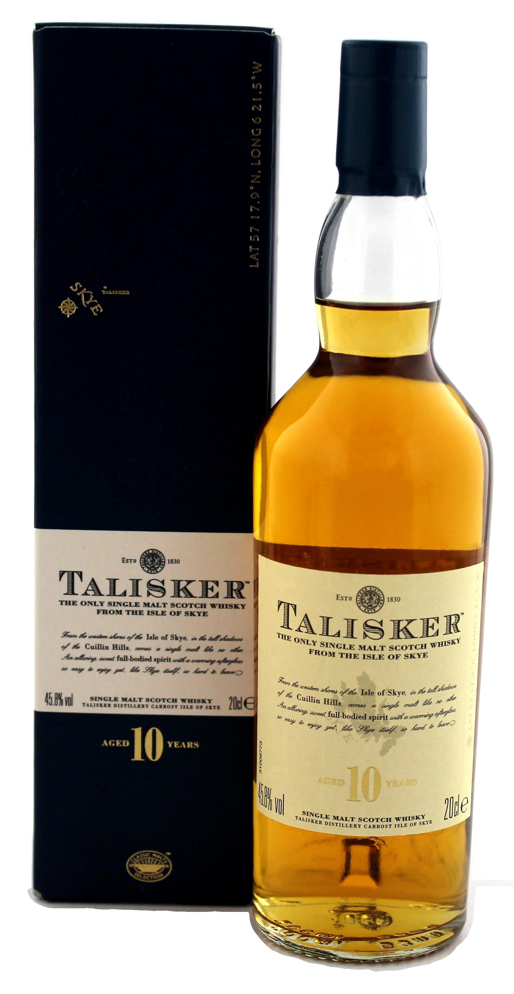 talisker malt whisky 10 jahre kaufen whisky online shop spirituosen. Black Bedroom Furniture Sets. Home Design Ideas