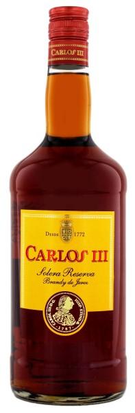 Carlos III Solera Reserva Brandy