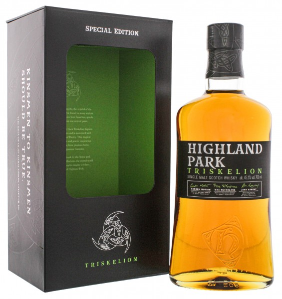 Highland Park Single Malt Whisky Triskelion Special Edition 0,7L 45,1%