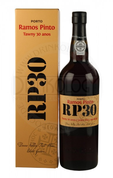 Ramos Pinto Tawny Port 30 Years Old, 0,75 L, 20%