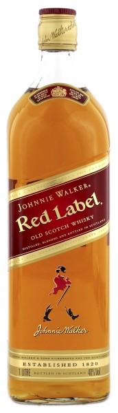 Johnnie Walker Blended Scotch Whisky Red Label, 1 L, 40%