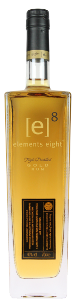 Elements Eight Rum Gold, 0,7 L, 40%