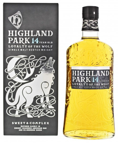 Highland Park Single Malt Whisky 14 Jahre Loyalty of the Wolf 1,0L 42,3%