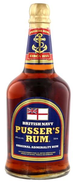 Pusser's British Navy Rum, 0,7 L, 40%