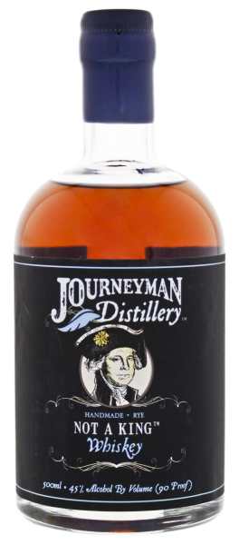 Journeyman Not a King Rye Whiskey 0,5L 45%