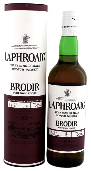 Laphroaig Brodir Port Wood Finish, Batch 002, 0,7L 48%
