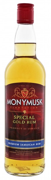Monymusk Plantation Special Gold Rum 0,7L 40%