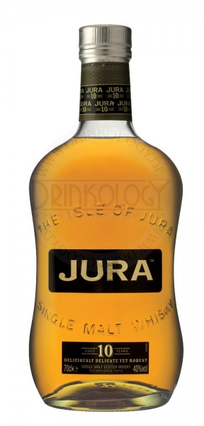 Isle of Jura Single Malt Whisky 10 Years Old
