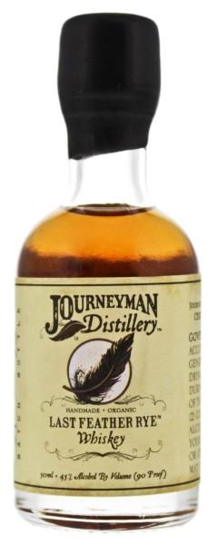 Journeyman Last Feather Rye Whiskey 0,05L 45%