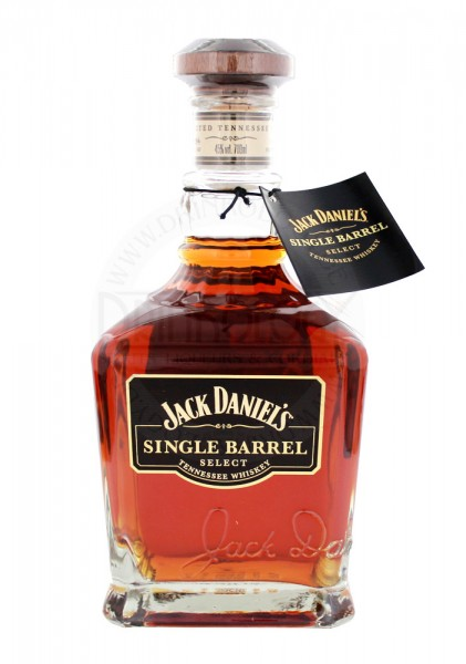 Jack Daniels Single Barrel Tennessee Whiskey, 0,7 L, 45%
