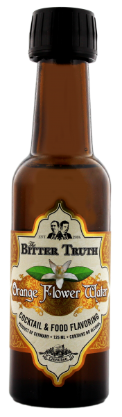 The Bitter Truth Orange Flower Water 0,125L, alkoholfrei