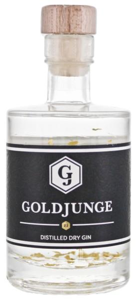 Goldjunge Distilled Dry Gin Miniatur 0,05L 44%