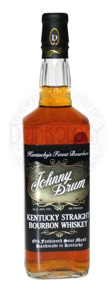 Johnny Drum Bourbon Whiskey Black Label 0,7L 43%