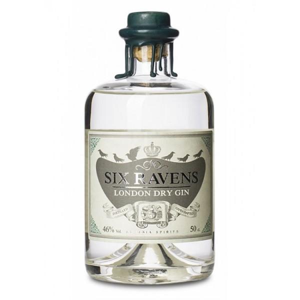 Six Ravens London Dry Gin 0,5L 46%