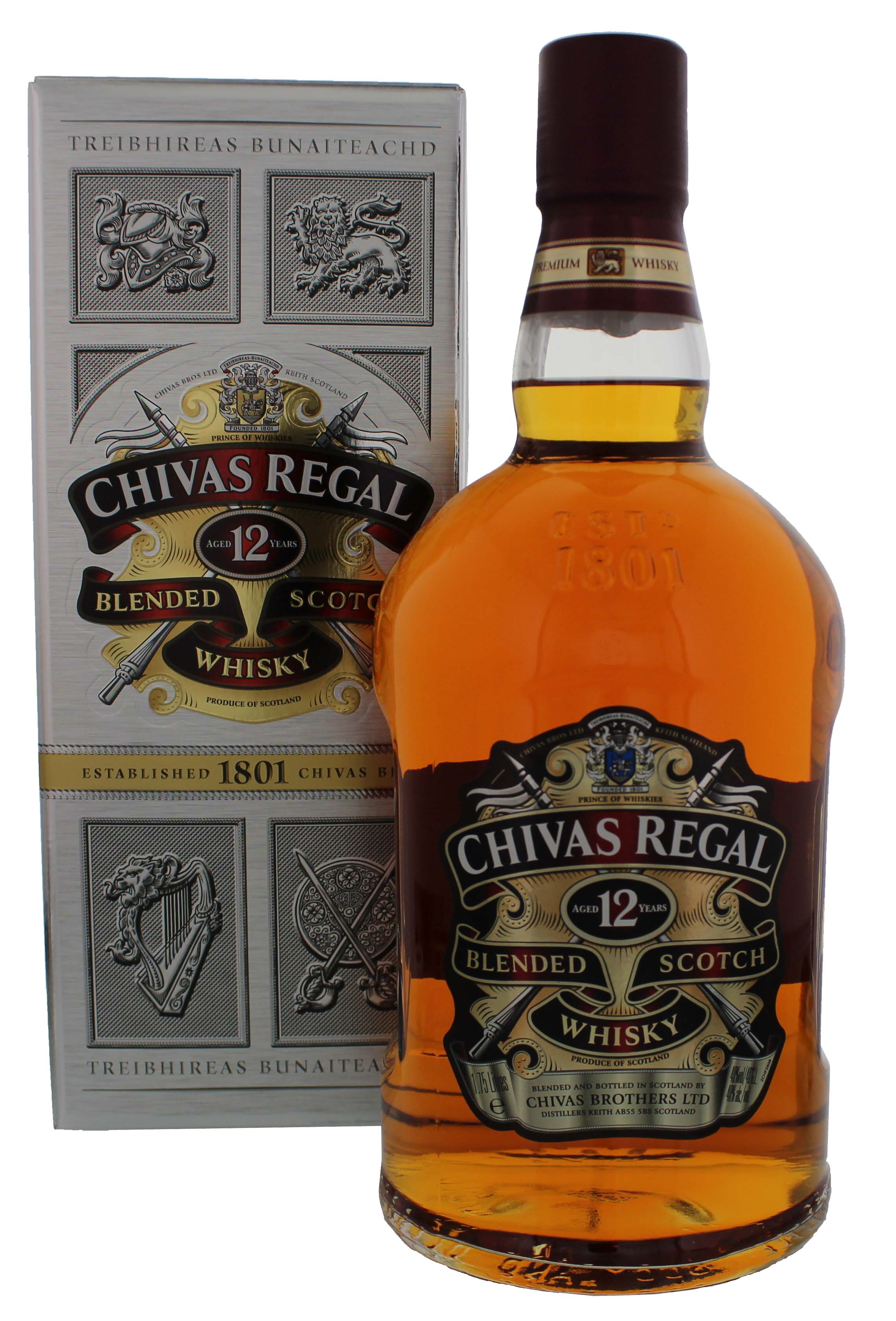 Chivas regal scotch whisky 12 jahre 1 75 liter kaufen whisky online shop - Chivas regal 18 1 liter price ...