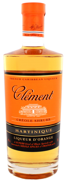 Clement Liqueur Creole Shrubb Rhum Liqueur, 0,7 L, 40%