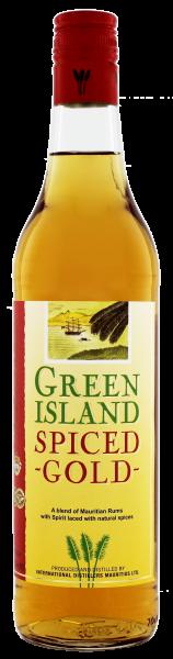 Green Island Spiced Gold 0,7 L 37,5%
