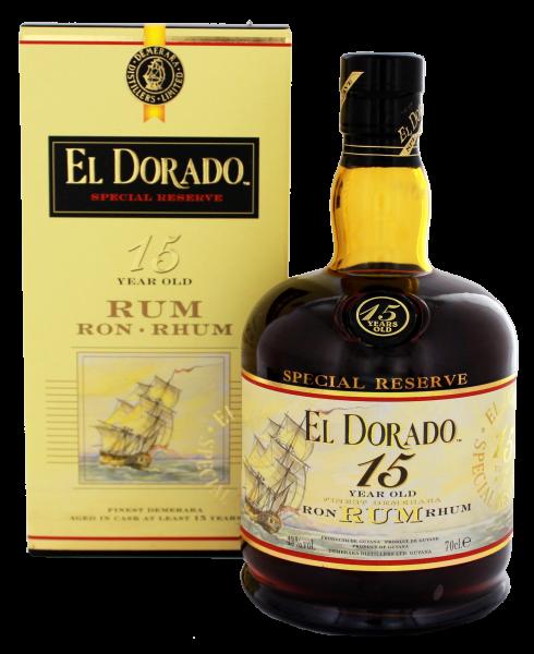 El Dorado Rum 15 Years Old 0,7L 43%