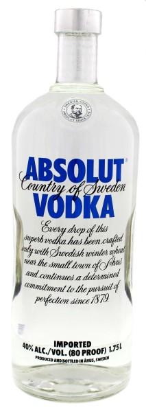 Absolut Vodka Blue 1,75L 40%