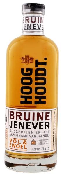 Hooghoudt Bruine Jenever, 0,7 L, 30%