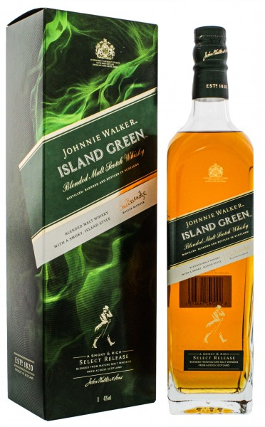 Johnnie Walker Island Green Blended Whisky 1,0L 43%