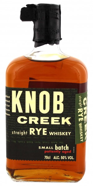 Knob Creek Straight Rye Whiskey, 0,7L 50%
