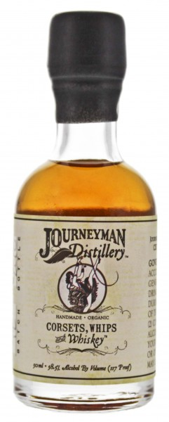 Journeyman Corsets, Whips and Whiskey 0,05L 58,5%