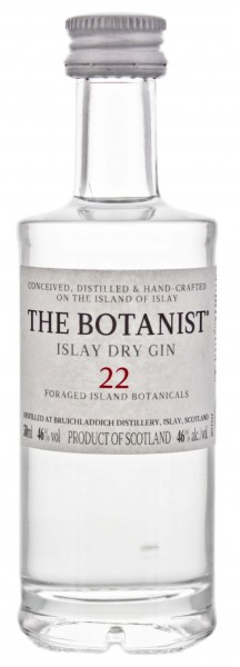 The Botanist Islay Dry Gin Miniatur 0,05L 46%
