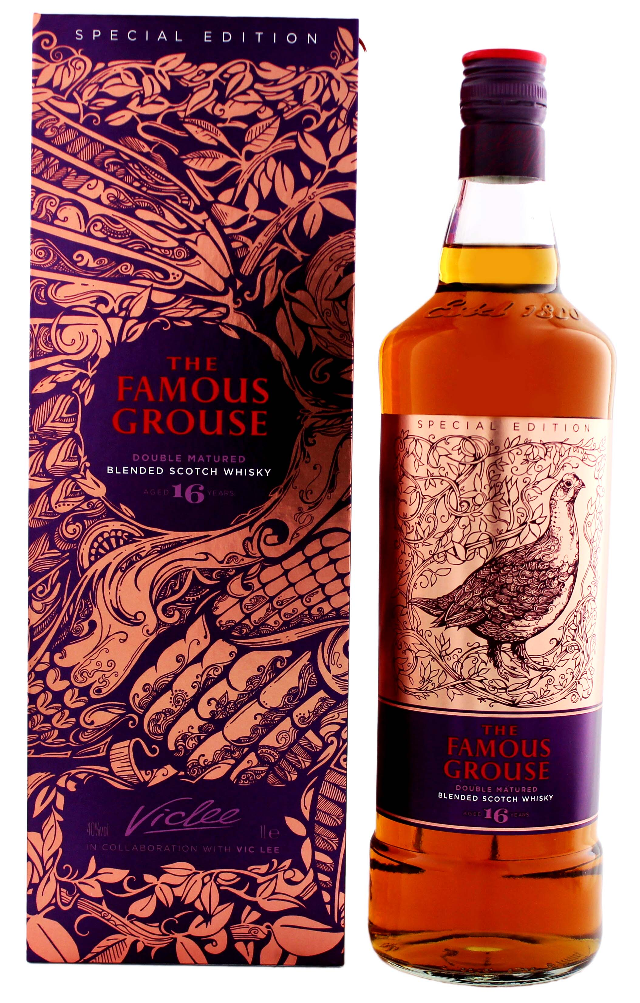 Famous Grouse 16 Jahre Vic Lee Special Edition Jetzt