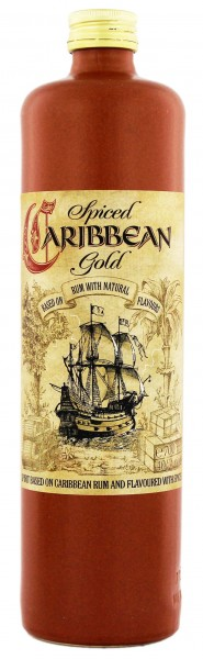 Caribbean Spiced Gold 0,7L 40%