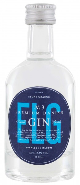 Elg Gin No. 3. Navy Strength Miniatur