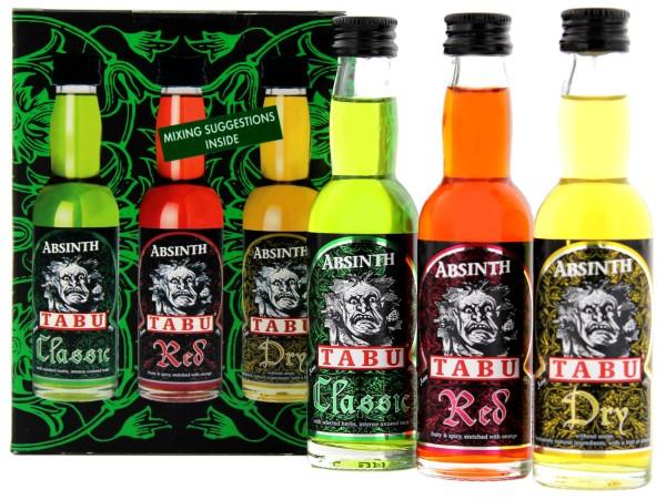 Tabu Absinth (Classic/Red/Dry) 3x0,04L 55%