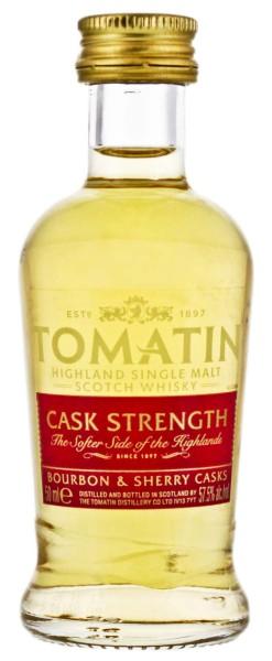 Tomatin Single Malt Whisky Cask Strength Miniatur 0,05L 57,5%