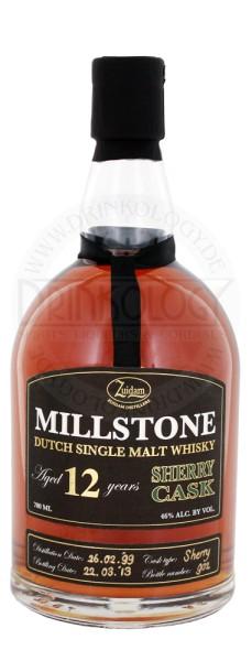 Zuidam Millstone Malt Whisky 12 Jahre Sherry Cask 0,7L 46%