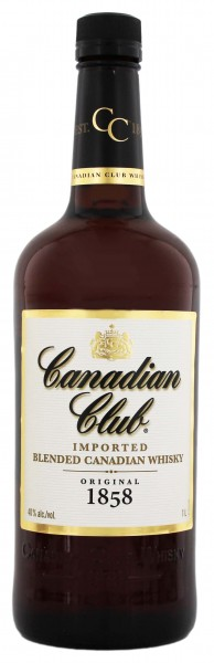 Canadian Club Whisky, 1 L, 40%