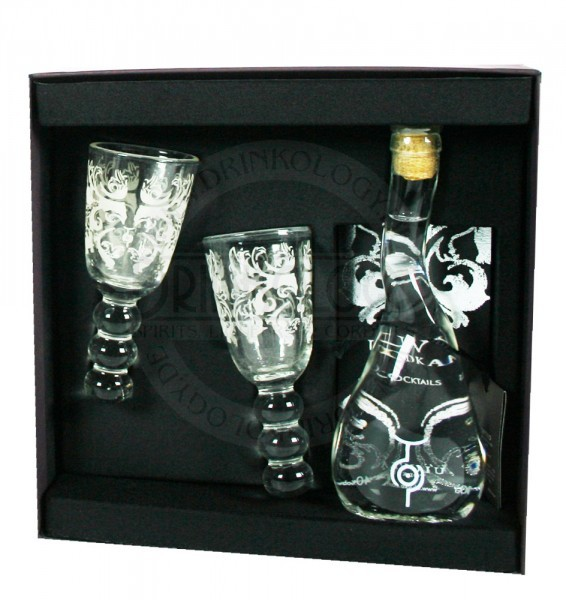 U`Luvka Vodka Giftpack 0,1L 40%